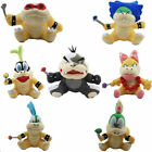 IGGY MORTON WENDY LEMMY ROY LUDWIG LARRY SUPER MARIO BROS KOOPALINGS PLUSH Toy