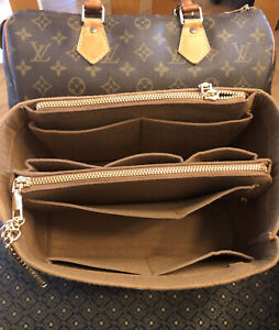Insert For Many Bags Louis Vuitton Neverfull PM Tote Speedy Warm Brown Shaper