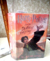 HARRY POTTER,The DEATHLY HALLOWS,J.K.Rowling,1stEd,Illust,Illustrator Signed,DJ