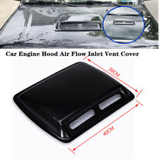 Large Universal Car Engine Hood Air Flow Inlet Vent Cool SUV Front Grille Cover