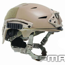 FMA Tactical MIC EX BUMP Helmet Airsoft Paintball Protective TB742 DE