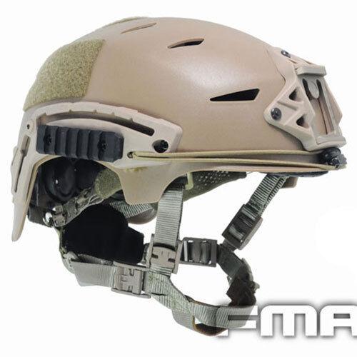 High Quality Airsoft CS Protective FMA EXF BUMP Helmet DE TB742 Coupon