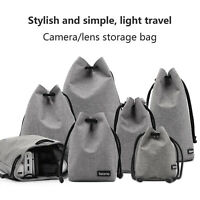 Deluxe Lens Pouch Bag for DSLR SLR Camera Lens Waterproof Anti-Scratch