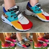 Herren & Damen Leopard Sneaker Sportschuhe Laufschuhe Freizeit Turnschuhe Schuhe