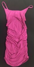 Supre Womens/Ladies Size S/10 Side Gathered Sinful Dress - MAGENTA PINK - BNWT