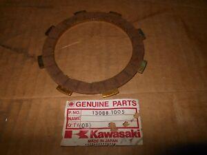 NOS OEM Kawasaki KX80 KDX80 Clutch Friction Plate Qty.1 # 13088-1005