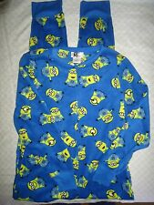 WINTER PAJAMA Despicable Me Minion FOOTLESS NO FEET UNION SUIT FLEECE SLEEPER