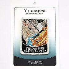 Yellowstone National Park Souvenir Patch Traveler Series Iron-on Wyoming