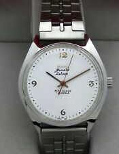 HMT Janata Deluxe White Dial (Mechanical Watch) 17 J Collectible men's watch