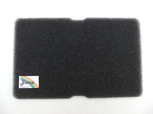 6X Schwammfilter Filtermatte Kondens-/Wärmepumpentrockner Beko Grundig Blomberg