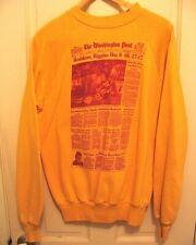 The Washington Post Redskins Sweatshirt Front Page Jan. 31 1983 Rare Collectible