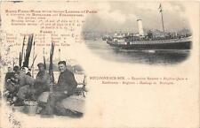 CPA 62 BOULOGNE SUR MER RAPID FIXED HOUR SERVICES BETWEEN LONDON AND PARIS EXCUR