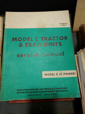 MODEL C TRACTOR & TRAIL UNITS SERVICE MANUAL (V-POWER) - WABCO