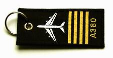 Rang Pilot A380 Schlüsselanhänger NEU 380 Rangabzeichen Keyring Anhänger