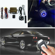 Car Alarm Security System Induction  One Button Remote Starter Control Universal