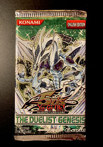 YU-GI-OH! The Duelist Genesis Booster Pack Factory Sealed 🔥