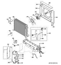 NEW OEM GE Geospring Water Heater MOTOR FAN WS26X20461 + fan Blade WS26X20102
