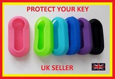 FIAT 500 PANDA PUNTO BRAVO STILO LANCIA 3 BUTTON KEY FOB COVER CASE FLIP REMOTE
