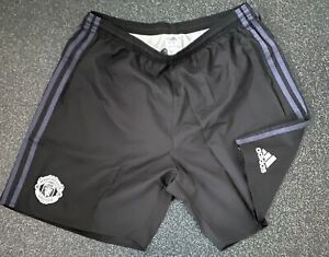 adidas Manchester United Player Issue GK Shorts - Small