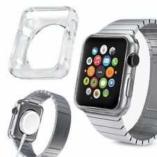 42MM Apple Watch Slim Fit Gel Case With Premium Clear Finish. Protector