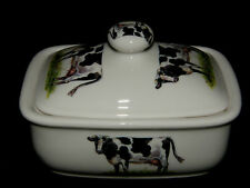BN Bone China Traditional Cow Butter Dish and Lid High Quality Kitchenware