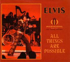 ELVIS PRESLEY - ALL THINGS ARE POSSIBLE CD DIGIPAK