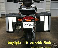 BMW R1200GS Vario Hardbag Reflective Decal Set 1200 GS