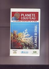 K7 Video Planete Cousteau  Atlas La Jungle de corail