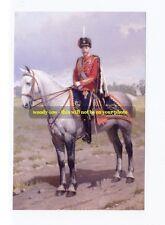 mm229 - Romanov - Czar of Russia Nicholas II  on horse - art - photo 6 x 4