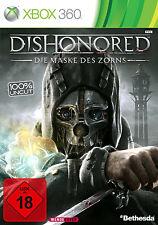 Dishonored-la máscara del maíz para Xbox 360 | 100% UNCUT | mercancía nueva | DT.