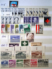 Austria Osterreich 1961 - 1973 MNH** about 700 stamps in perfect conditions