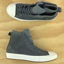 Converse Chuck Taylor All Star WP Waterproof Hi Grey White Shoes 157459C Sz 9.5