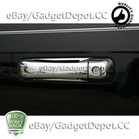 For 2006 2007 2008 2009 2010 Jeep Commander Chrome Door Handle Covers