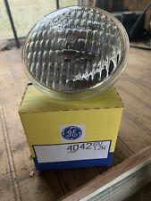 GE LIGHTING 4042 Halogen Sealed Beam Lamp 6volt 12 Watt