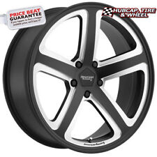 "American Racing AR922 Satin Black Milled 17""x8 Wheels Rims (Set of 4) NEW"