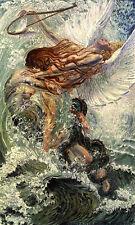 CARLOS Schwabe l'uomo e il mare wall art canvas