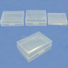 5Pcs Plastic Hard Case Holder Storage Box For Canon Nikon Sony Samsung Battery