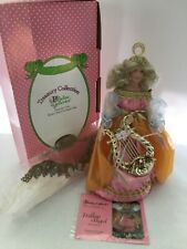 """Paradise Galleries Treasury Collection Porcelain Christmas Tree Top Angel 13"""""""
