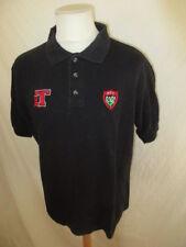 Polo de rugby vintage RCT TOULON Noir Taille M