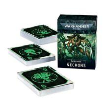 Warhammer 40k Datacards Necrons