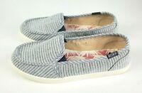 Roxy Minnow VI Womens Slip On Shoes Heather Grey Size 9