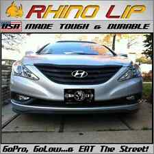 Sonata Universal Fit Front Bumper Rubber Chin Lip Splitter Spoiler Trim -Hyundai
