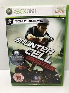 Tom Clancy's Splinter Cell: Conviction Xbox 360 includes manual UK free post