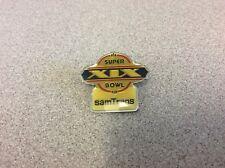 1985 Nfl Super Bowl Xix Sam Trans Dolphins Vs 49ers Collectible Football Pin!