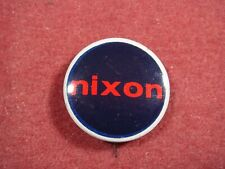 More details for nixon official 1968 campaign button badge - rare in uk