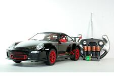 "R/C RC Radio Control Porsche 911 GT3 RS 1/14 BLACK 14"" LONG (BATTERIES INCLUDED)"