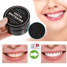 Teeth Whitening Powder Organic Activated Charcoal Bamboo Teeth Whitener LIN