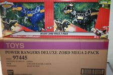 POWER RANGERS DINO SUPER CHARGE DELUXE ZORD MEGA 2 PACK  NEW READ FIRST