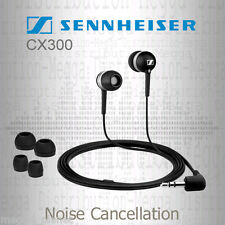 Sennheiser CX300 ECO Noise Cancelling Bass Stereo In-Ear Canal Headphones