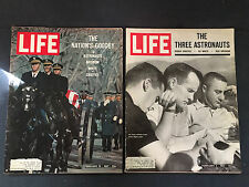 Lot LIFE Magazines Feb 3 10 1967 Nation's Goodby to Three Astronauts